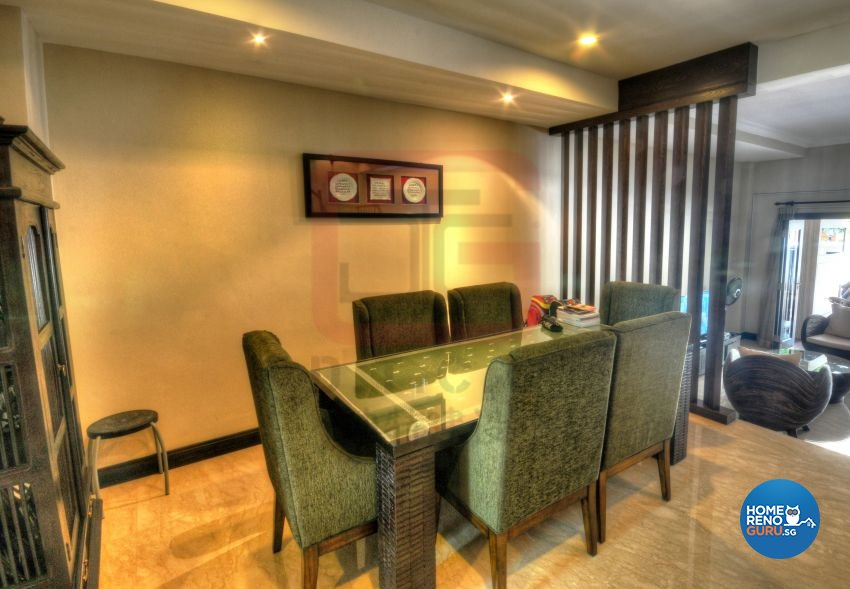 Contemporary, Resort, Tropical Design - Dining Room - Landed House - Design by DT construction group Pte ltd