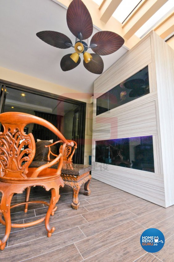 Contemporary, Resort, Tropical Design - Balcony - Landed House - Design by DT construction group Pte ltd