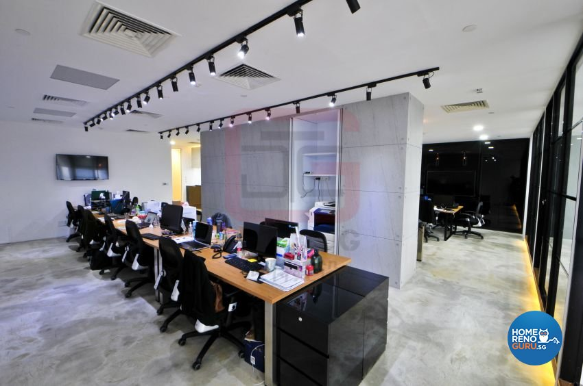 Industrial, Modern Design - Commercial - Office - Design by DT construction group Pte ltd