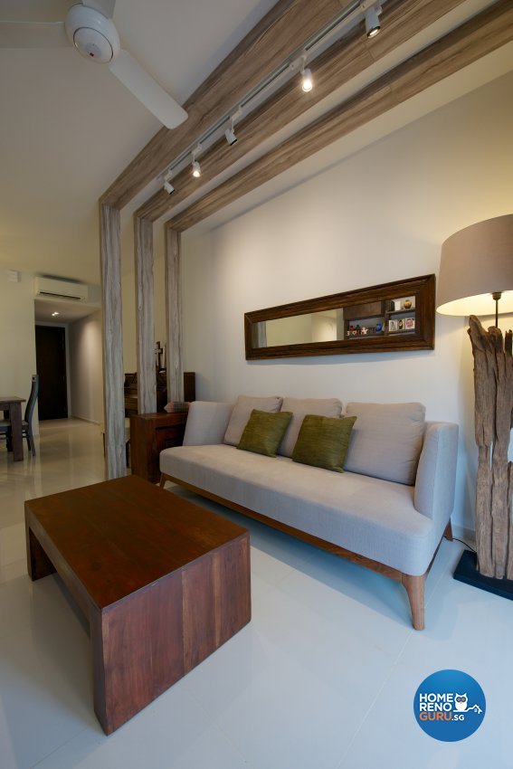 Scandinavian Design - Living Room - Condominium - Design by Dyel Pte Ltd