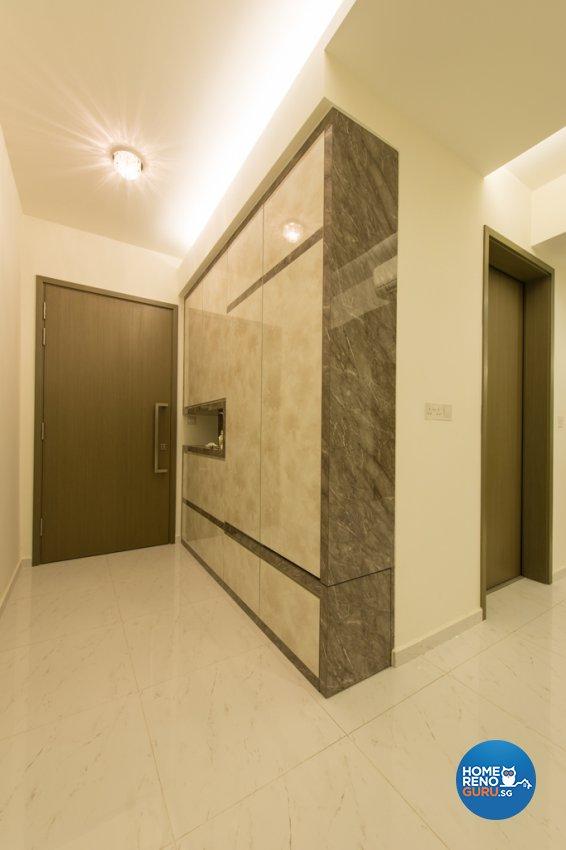Classical Design - Living Room - Condominium - Design by Dyel Pte Ltd