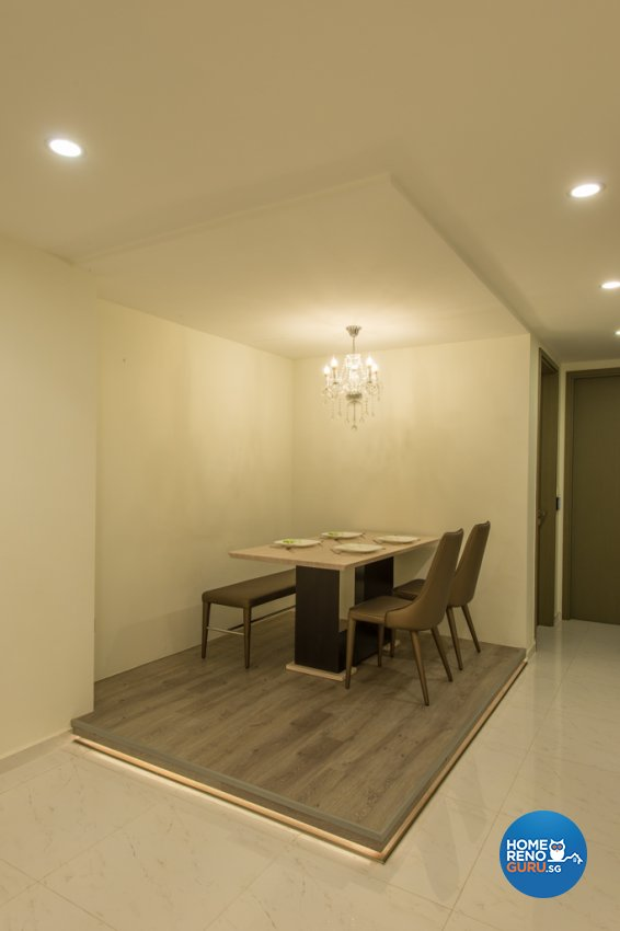 Classical Design - Dining Room - Condominium - Design by Dyel Pte Ltd