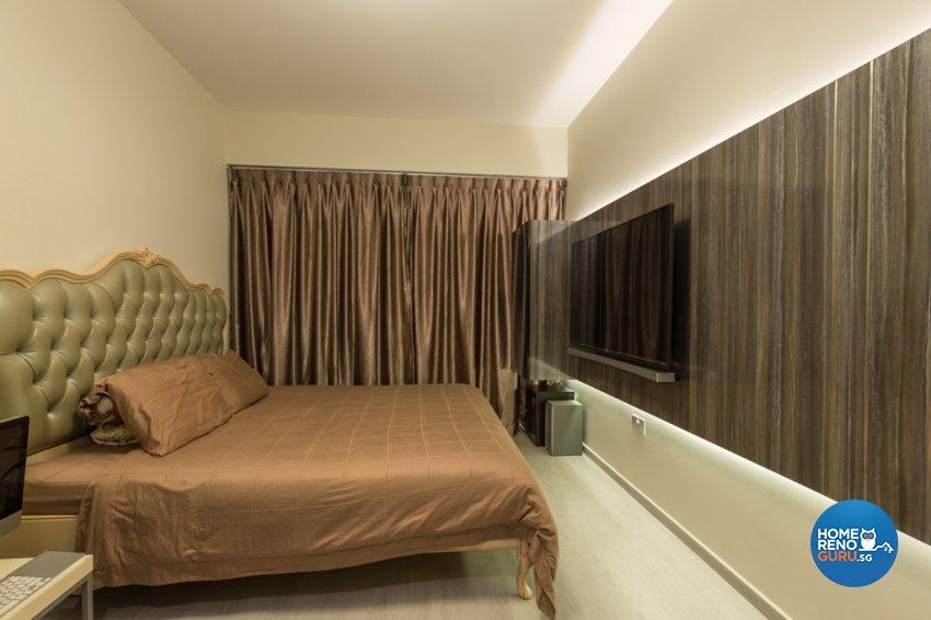 Classical Design - Bedroom - Condominium - Design by Dyel Pte Ltd