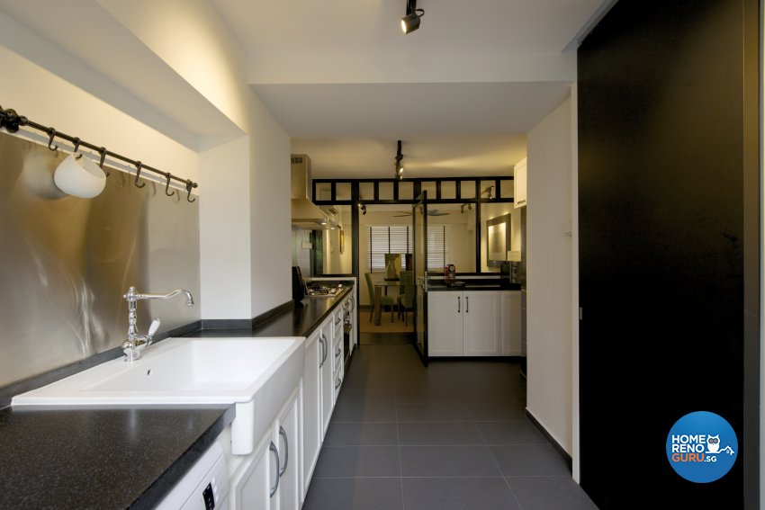 Eclectic, Industrial, Minimalist Design - Kitchen - HDB Executive Apartment - Design by Dyel Pte Ltd