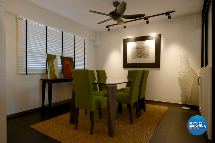 Eclectic, Industrial, Minimalist Design - Dining Room - HDB Executive Apartment - Design by Dyel Pte Ltd