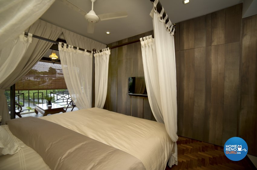 Contemporary Design - Bedroom - Landed House - Design by Dyel Pte Ltd
