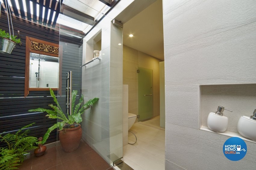 Contemporary Design - Bathroom - Landed House - Design by Dyel Pte Ltd