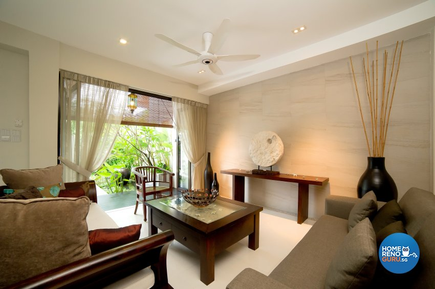 Contemporary Design - Living Room - Landed House - Design by Dyel Pte Ltd