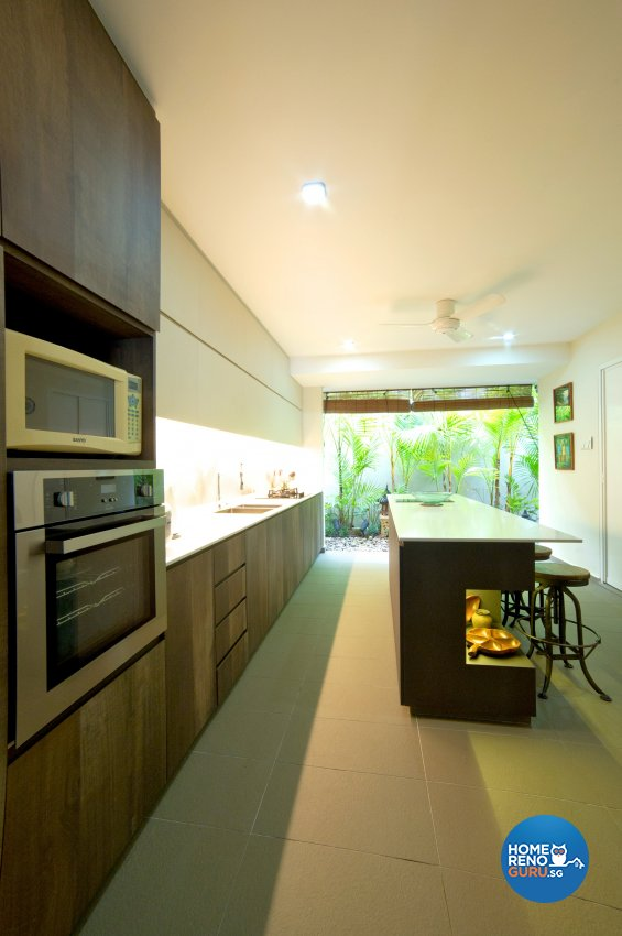 Contemporary Design - Kitchen - Landed House - Design by Dyel Pte Ltd