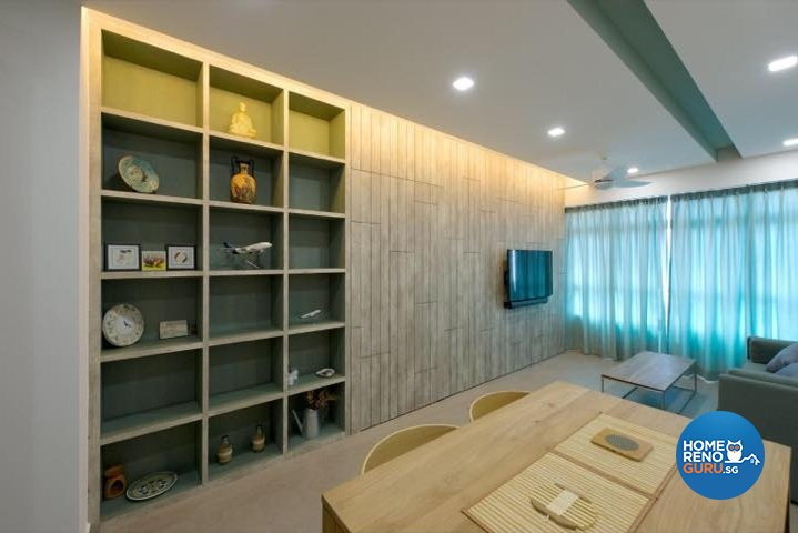 Scandinavian, Vintage Design - Living Room - HDB 3 Room - Design by Dyel Pte Ltd