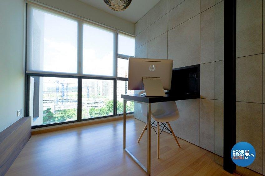 Minimalist, Scandinavian Design - Study Room - Condominium - Design by Dyel Pte Ltd
