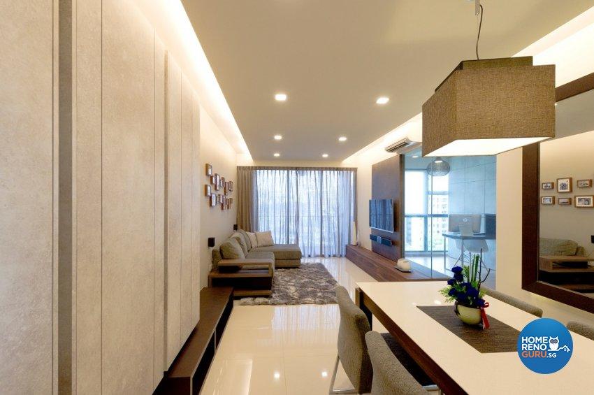 Minimalist, Scandinavian Design - Dining Room - Condominium - Design by Dyel Pte Ltd