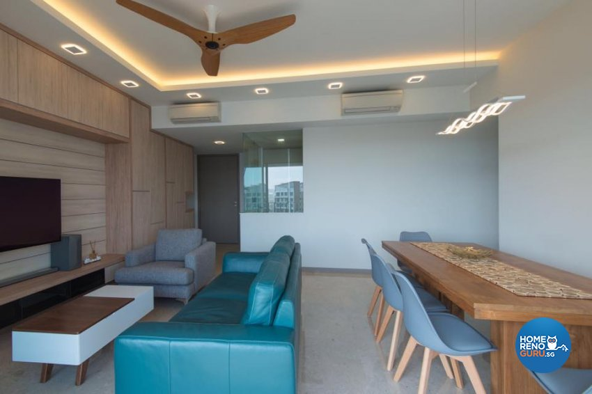 Minimalist Design - Living Room - Condominium - Design by Dyel Pte Ltd