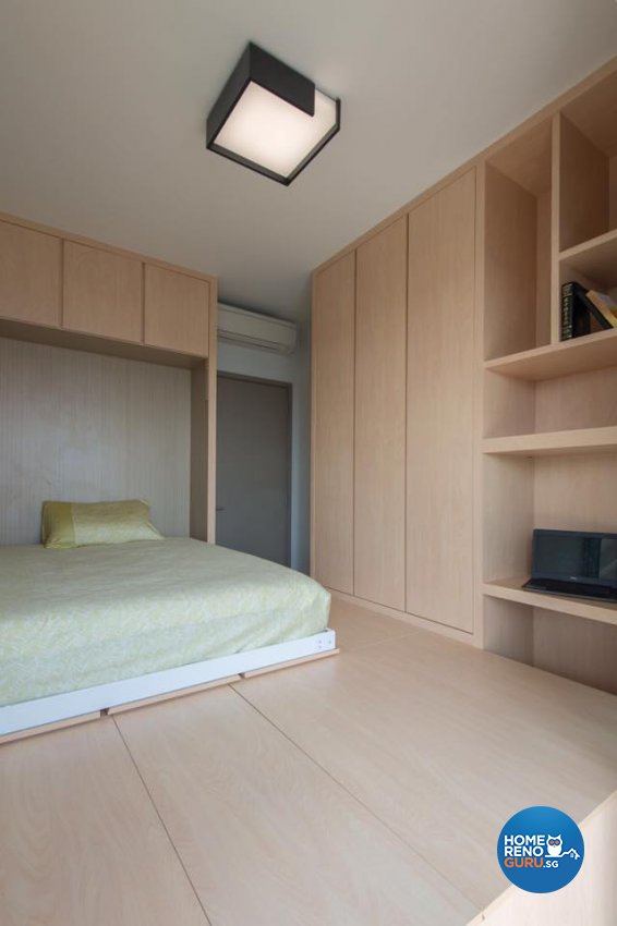 Minimalist Design - Bedroom - Condominium - Design by Dyel Pte Ltd