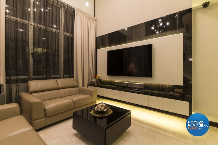 Contemporary Design - Living Room - Condominium - Design by Dzign Station Pte ltd
