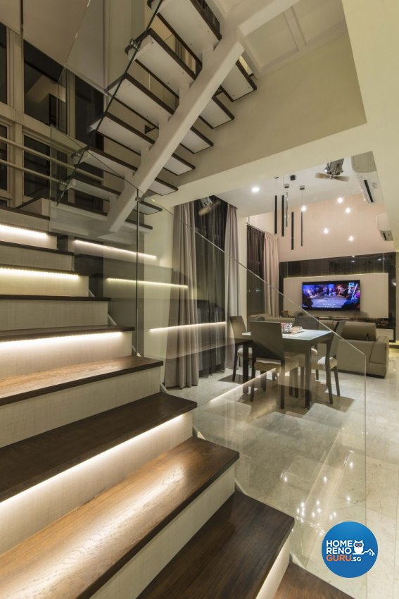 Contemporary Design - Dining Room - Condominium - Design by Dzign Station Pte ltd