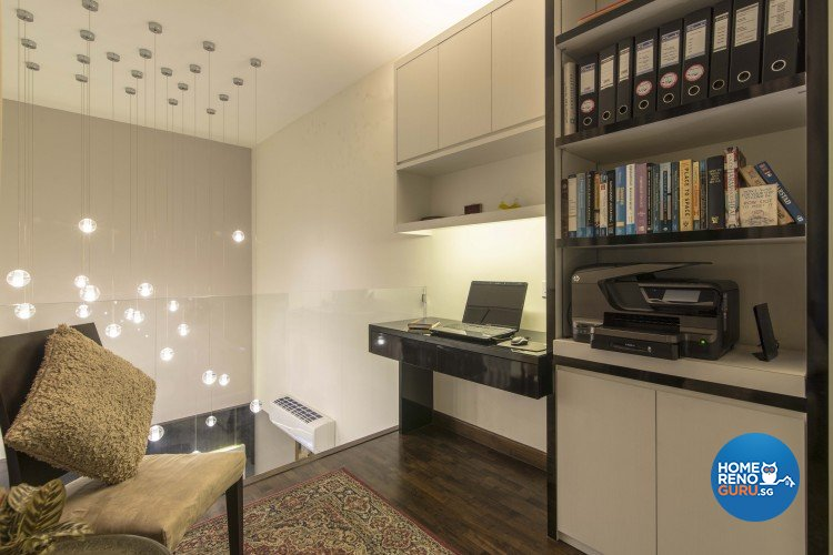 Contemporary Design - Study Room - Condominium - Design by Dzign Station Pte ltd