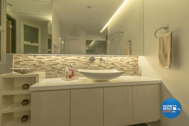 Contemporary Design - Bathroom - Condominium - Design by Dzign Station Pte ltd