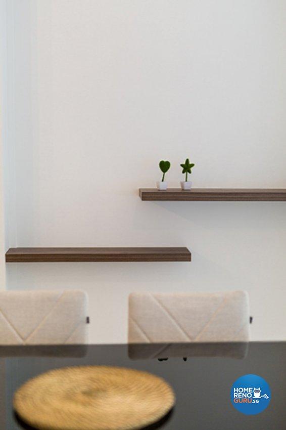 Scandinavian Design - Dining Room - HDB 5 Room - Design by Dzign Station Pte ltd