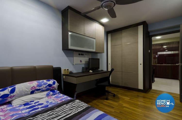 Minimalist Design - Bedroom - HDB 5 Room - Design by Dzign Station Pte ltd