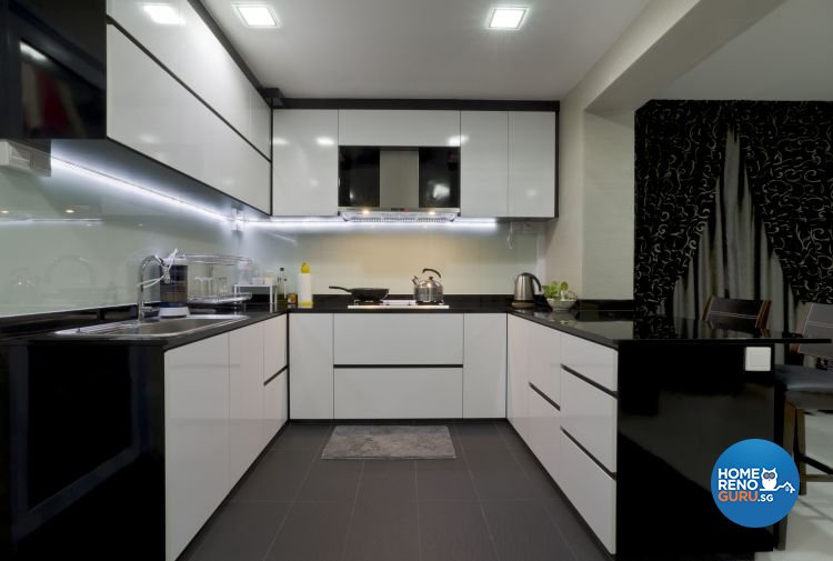 Minimalist Design - Kitchen - HDB 5 Room - Design by Dzign Station Pte ltd