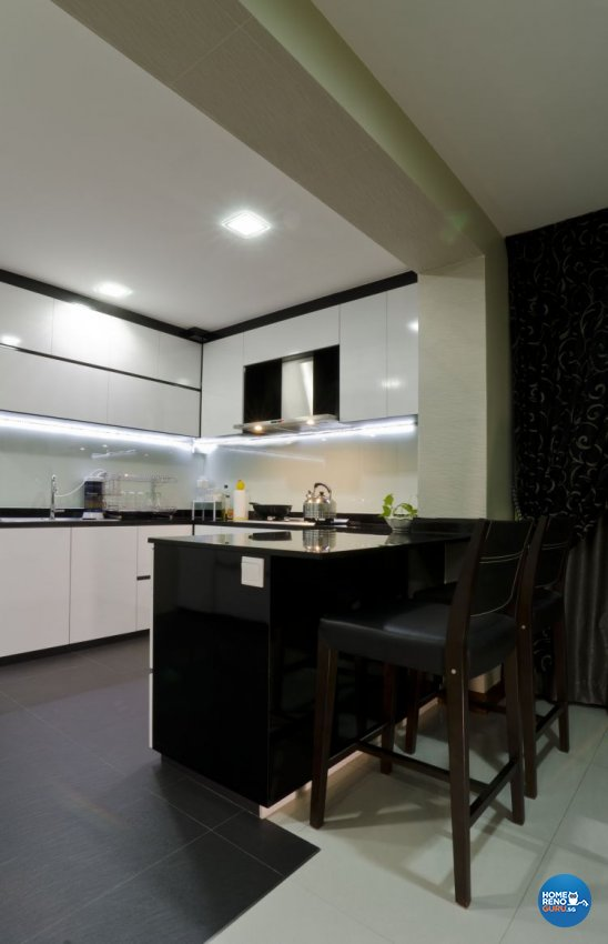 Minimalist Design - Dining Room - HDB 5 Room - Design by Dzign Station Pte ltd