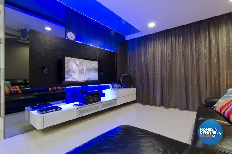 Minimalist Design - Living Room - HDB 5 Room - Design by Dzign Station Pte ltd