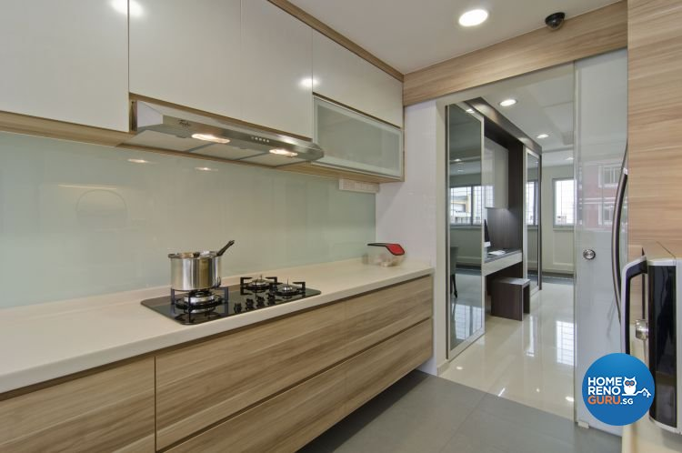 Minimalist Design - Kitchen - HDB 5 Room - Design by Dzign Station Pte ltd