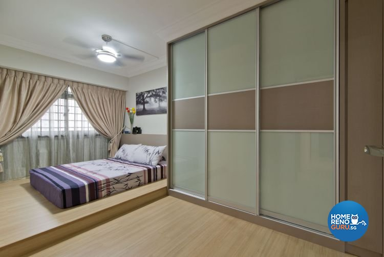 Minimalist Design - Bedroom - HDB 4 Room - Design by Dzign Station Pte ltd