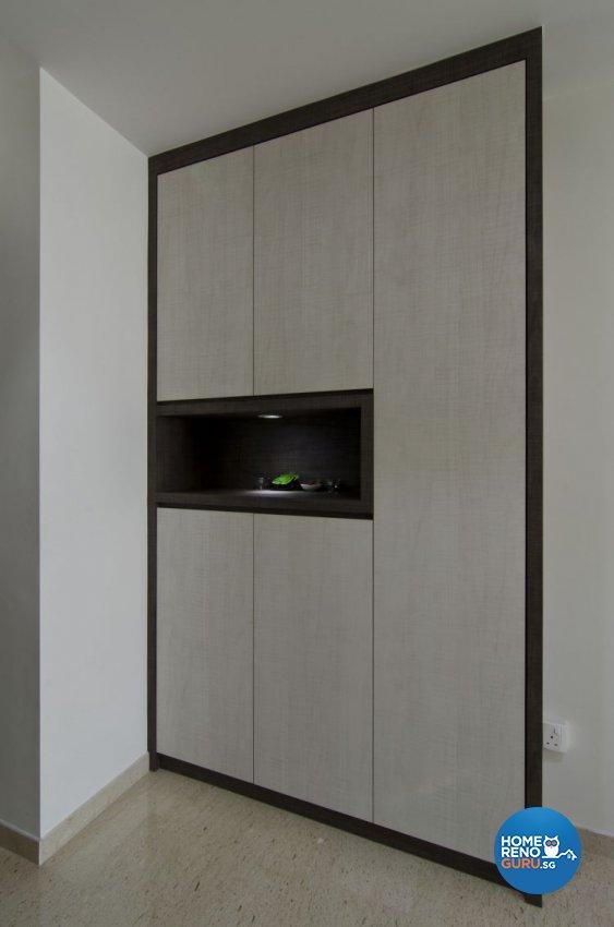 Modern Design - Living Room - HDB 4 Room - Design by Dzign Station Pte ltd