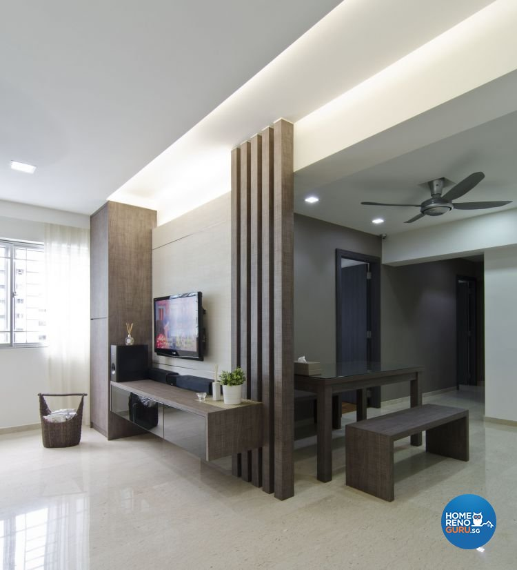 Modern Design - Dining Room - HDB 4 Room - Design by Dzign Station Pte ltd