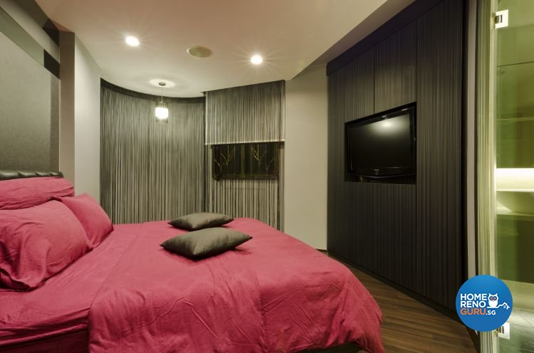 Contemporary Design - Bedroom - HDB 5 Room - Design by Dzign Station Pte ltd