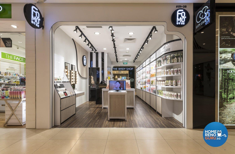 Modern design commercial retail design by earth interior design pte ltd