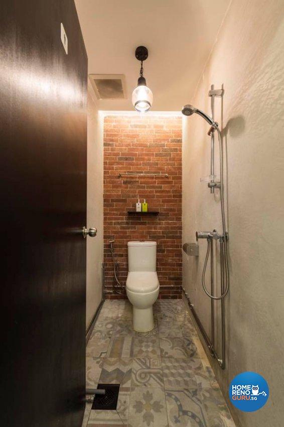 Industrial Design - Bathroom - Retail - Design by Earth Interior Design Pte Ltd