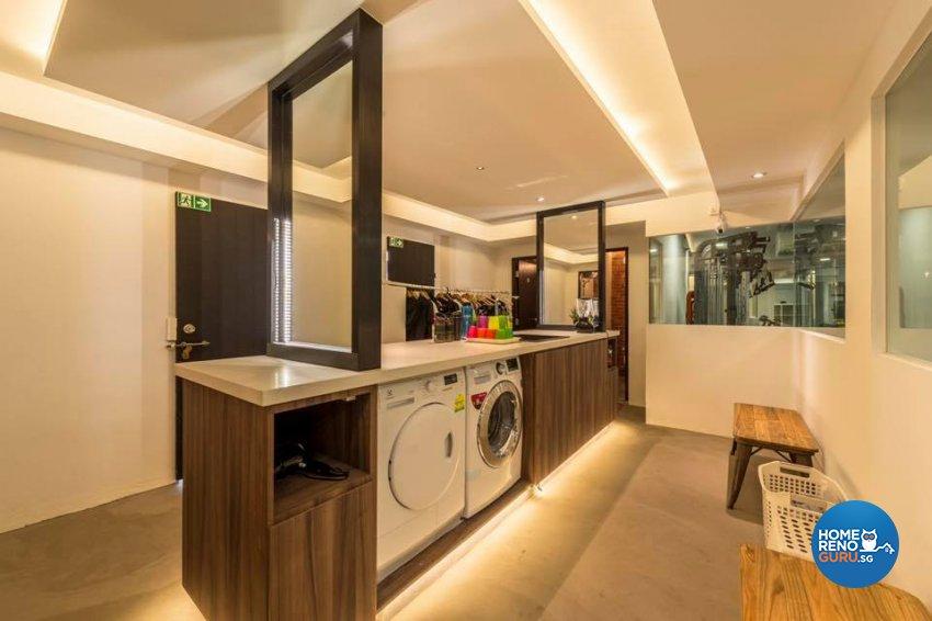 Industrial Design - Kitchen - Retail - Design by Earth Interior Design Pte Ltd