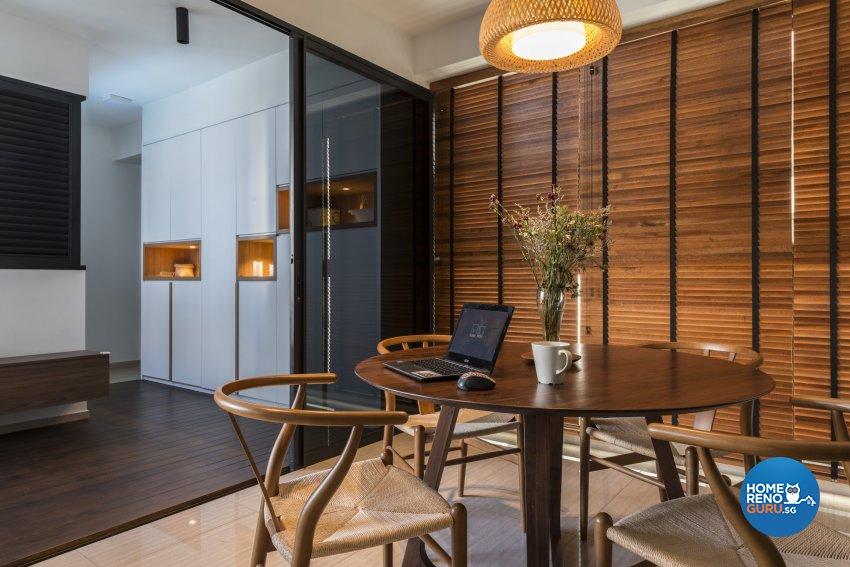 Scandinavian Design - Dining Room - Condominium - Design by Earth Interior Design Pte Ltd