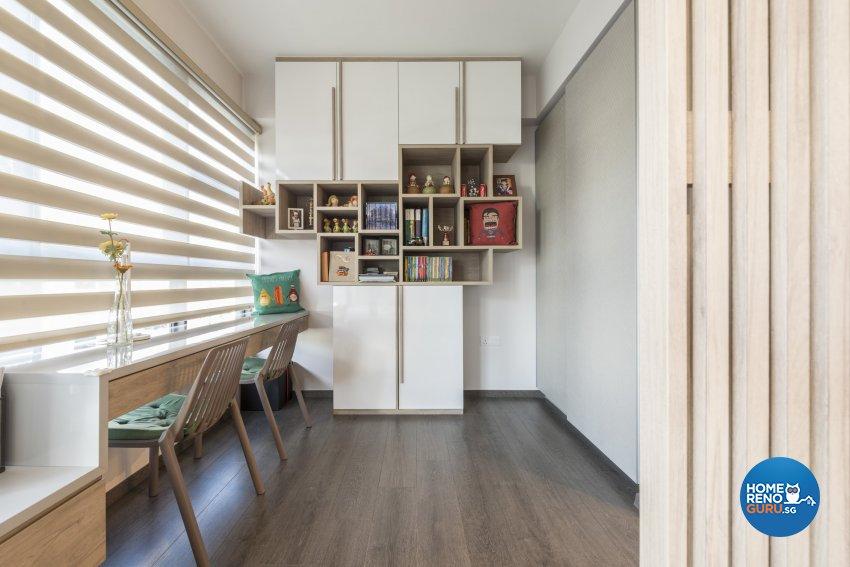 Scandinavian Design - Study Room - Condominium - Design by Earth Interior Design Pte Ltd