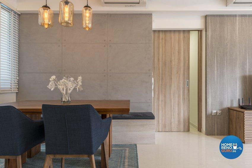 Eclectic, Modern Design - Dining Room - Condominium - Design by Earth Interior Design Pte Ltd