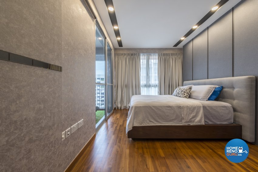 Eclectic, Modern Design - Bedroom - Condominium - Design by Earth Interior Design Pte Ltd