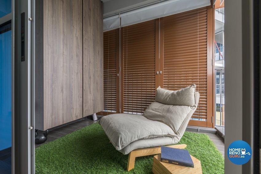 Eclectic, Modern Design - Entertainment Room - Condominium - Design by Earth Interior Design Pte Ltd