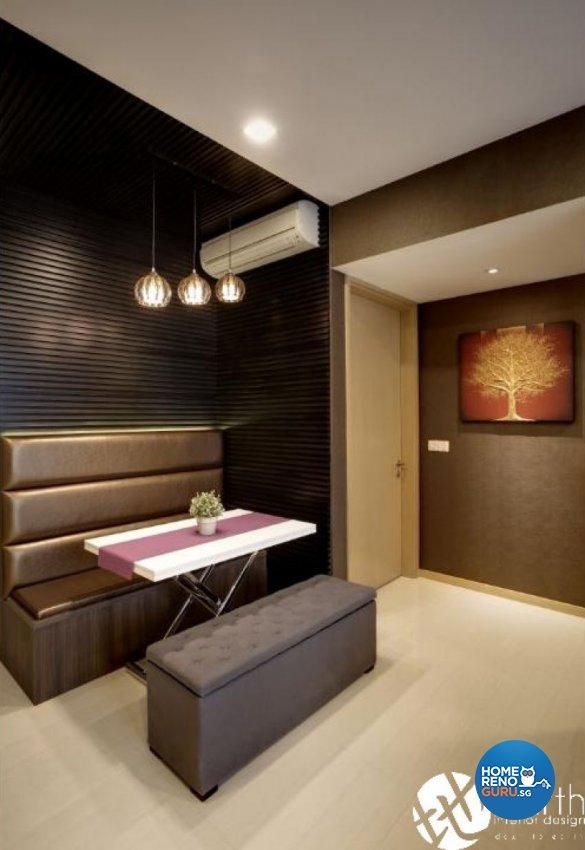 Contemporary Design - Dining Room - Condominium - Design by Earth Interior Design Pte Ltd