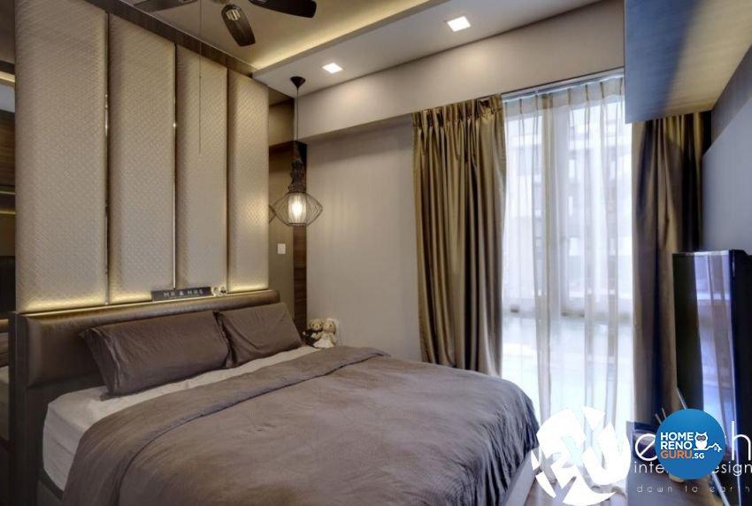 Contemporary Design - Bedroom - Condominium - Design by Earth Interior Design Pte Ltd