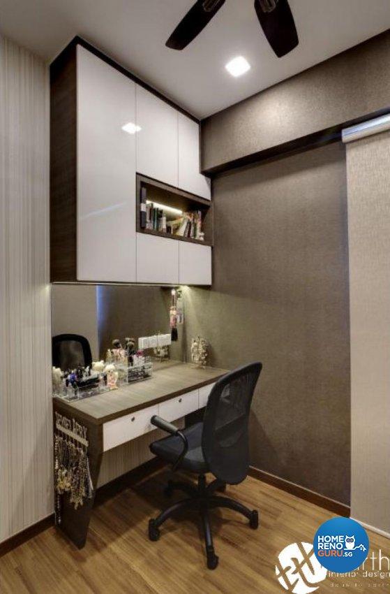 Contemporary Design - Study Room - Condominium - Design by Earth Interior Design Pte Ltd
