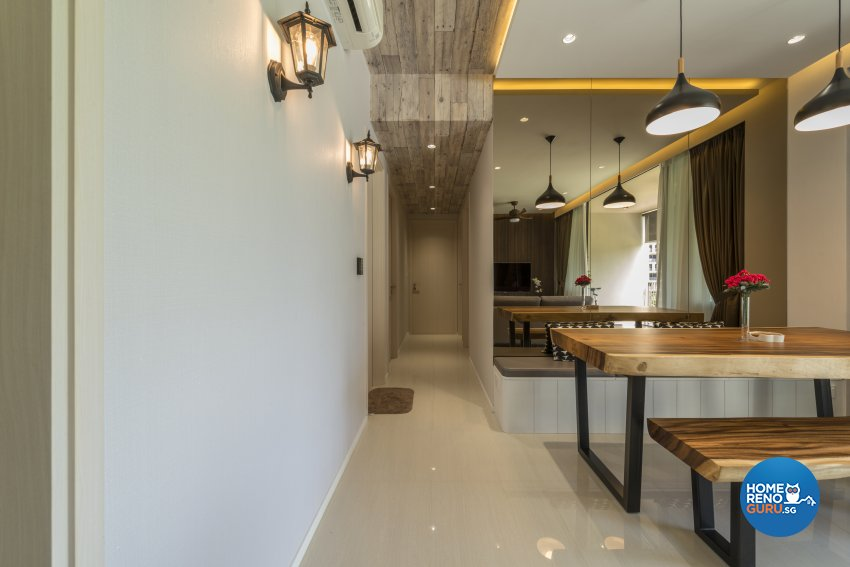Victorian Design - Dining Room - Condominium - Design by Earth Interior Design Pte Ltd