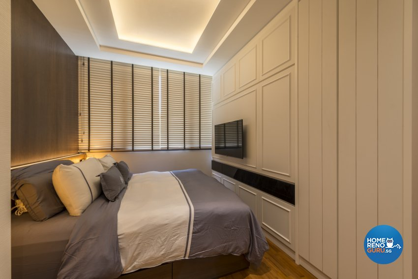 Victorian Design - Bedroom - Condominium - Design by Earth Interior Design Pte Ltd