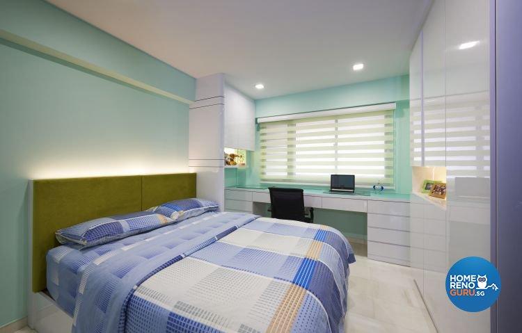 Contemporary, Modern Design - Bedroom - HDB 5 Room - Design by EC Vision Design Pte Ltd