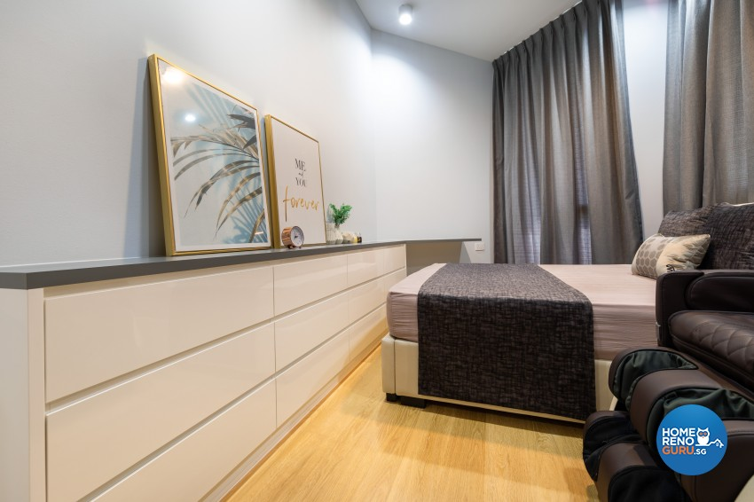 Modern Design - Bedroom - Condominium - Design by Edgeline Planners Pte Ltd
