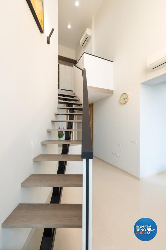 Modern Design - Living Room - Condominium - Design by Edgeline Planners Pte Ltd
