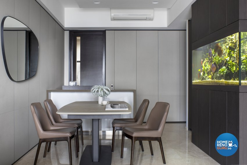Modern Design - Dining Room - Condominium - Design by Edgeline Planners Pte Ltd