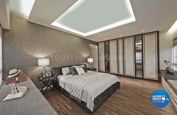 Industrial, Modern Design - Bedroom - Condominium - Design by Edgeline Planners Pte Ltd